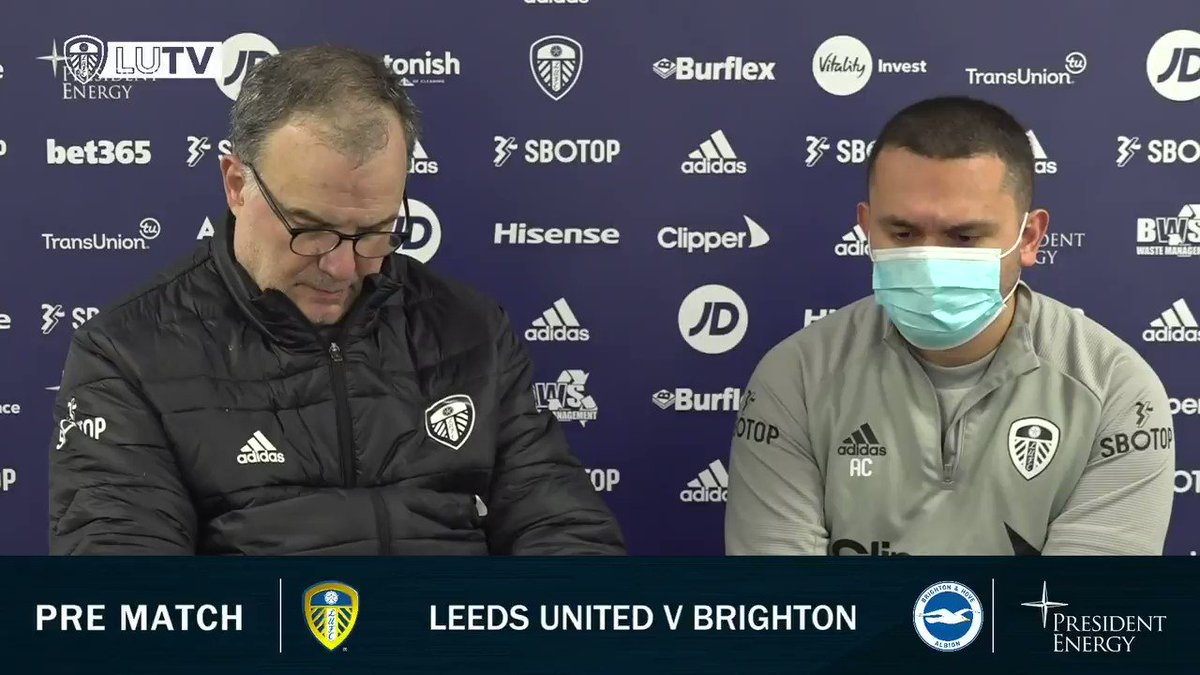 """💬 """"They have a lot of tactical diversity"""" Marcelo discusses facing Graham Potter and Brighton on Saturday"""