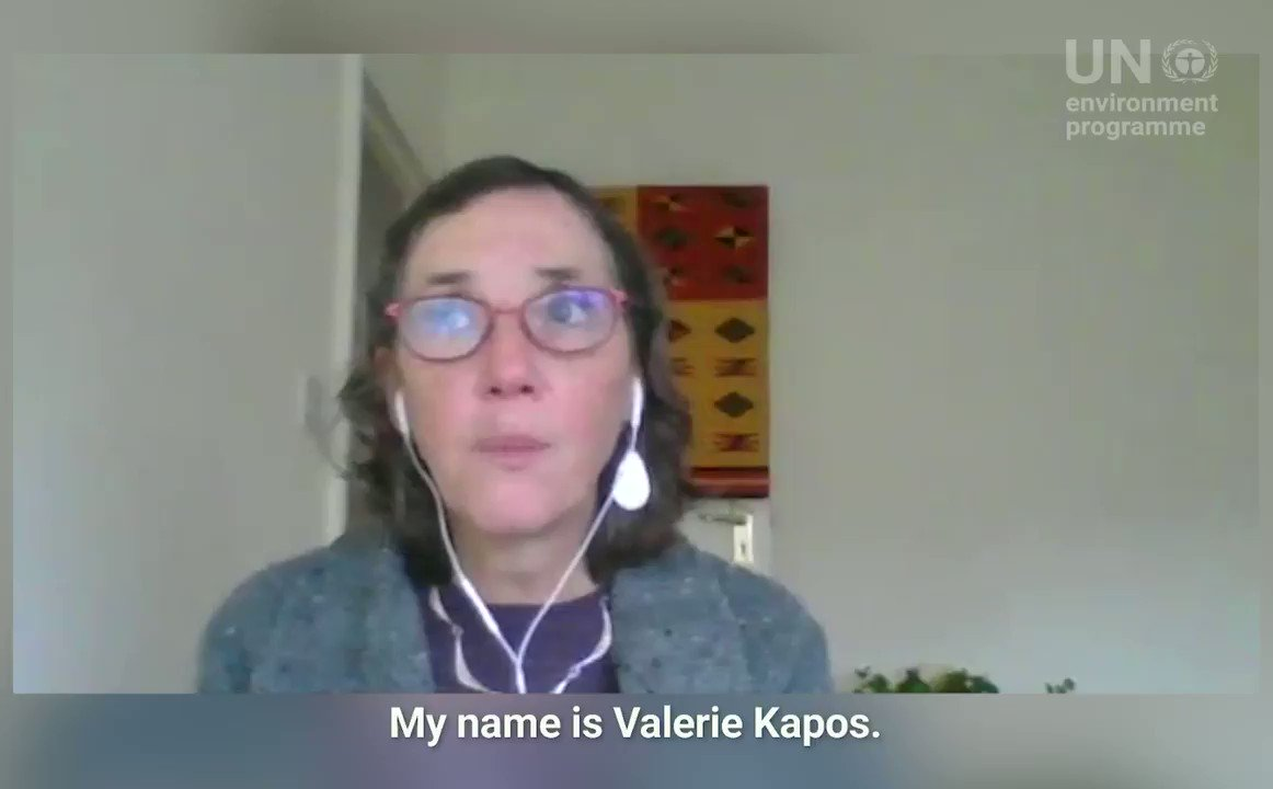 What is climate adaptation❓  What are nature-based solutions to climate change❓  Valerie Kapos of @unepwcmc answers some of your most common questions on climate change adaptation in the #AdaptationGap edition of Ask a Scientist.