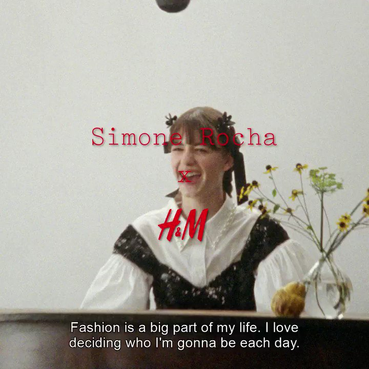 From 'Normal People' to #SimoneRochaxHM. We're delighted to have actress @daisyedgarjones as part of our next designer collaboration with @simone_rocha_  The collection launches 11 March. #HM