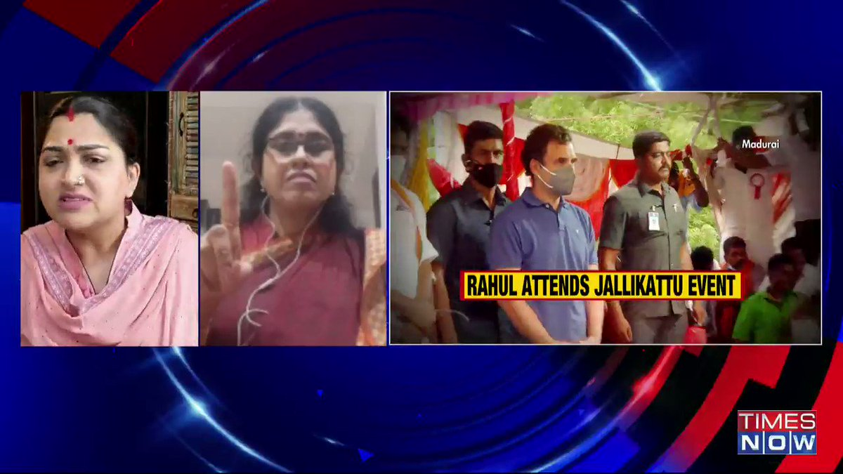 BJP is 'crushing' Tamil (language): @gokulchan, Political Analyst, tells Padmaja Joshi on @thenewshour AGENDA. | #RahulTamilTour
