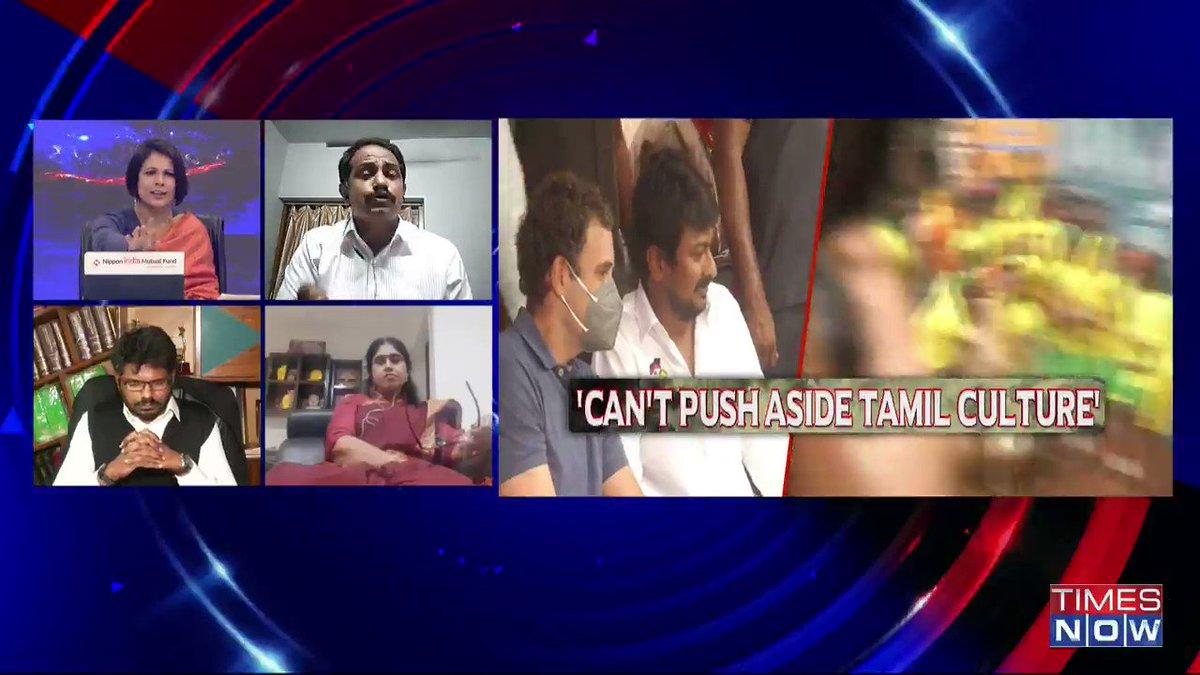People of Tamil Nadu have seen traitors & backstabbers. Traitor is Congress and backstabber is DMK: @KovaiSathyan, AIADMK Spokesperson, tells Padmaja Joshi on @thenewshour AGENDA. | #RahulTamilTour