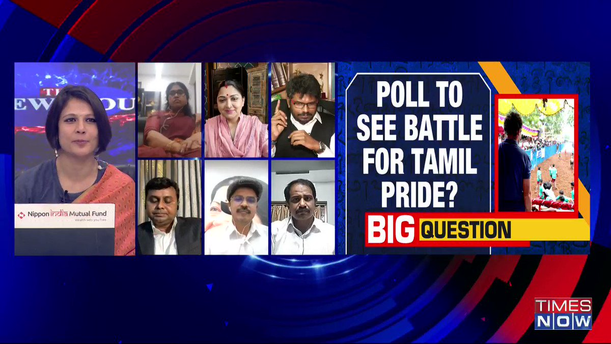 .@RahulGandhi has not come clean with respect to his position in Jallikattu because in 2014-16, his party had a specific position asking for Jallikattu ban. But today he seems to celebrating it: @jsaideepak, Advocate, tells Padmaja Joshi on @thenewshour AGENDA. | #RahulTamilTour