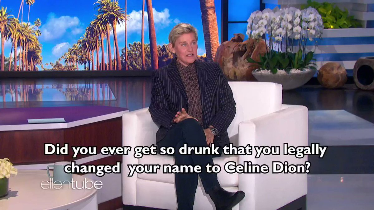 Have you ever gotten drunk and legally changed your name to Celine Dion? Well, my guest today has.