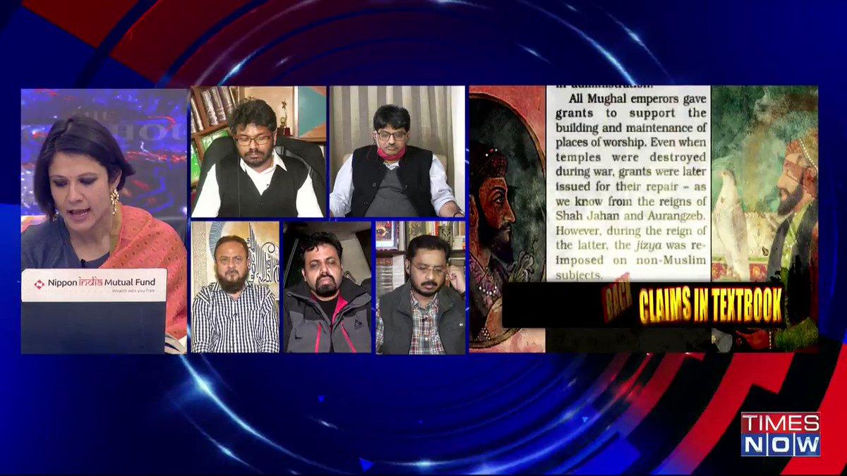 Kings are kings and they don't have religion: @VivekSrivastav_, Political Analyst, tells Padmaja Joshi on @thenewshour AGENDA. | #AurangzebWhitewashed
