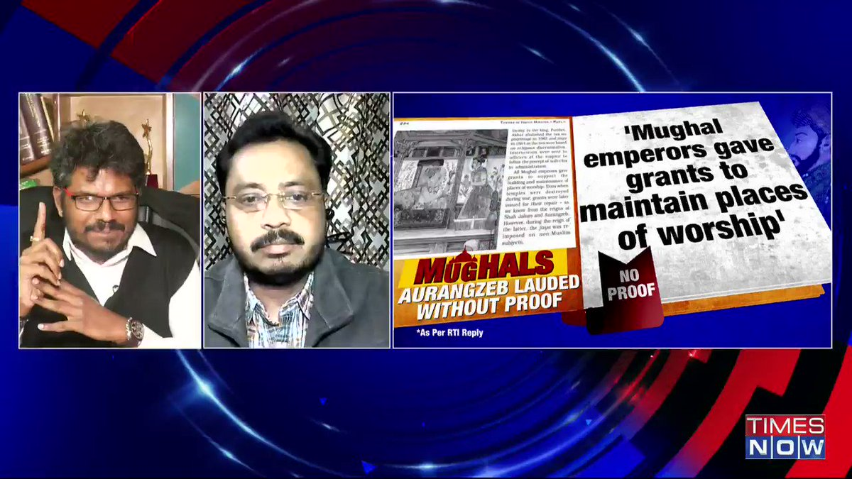When BJP tries to revise history and they actually place certain facts on record, we are being told that it's a case of 'saffronisation': @jsaideepak, Advocate, tells Padmaja Joshi on @thenewshour AGENDA. | #AurangzebWhitewashed