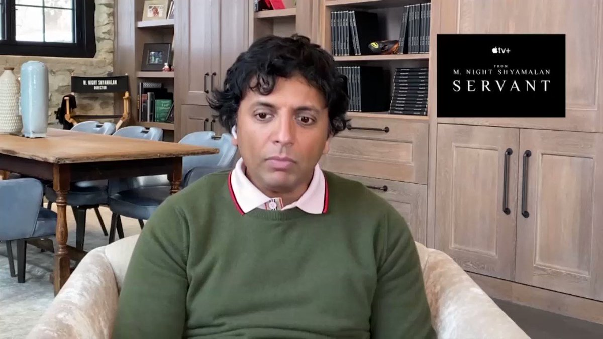 Launching the second season of @AppleTV series #Servant, @MNightShyamalan shares the unique challenges posed by long-form storytelling.