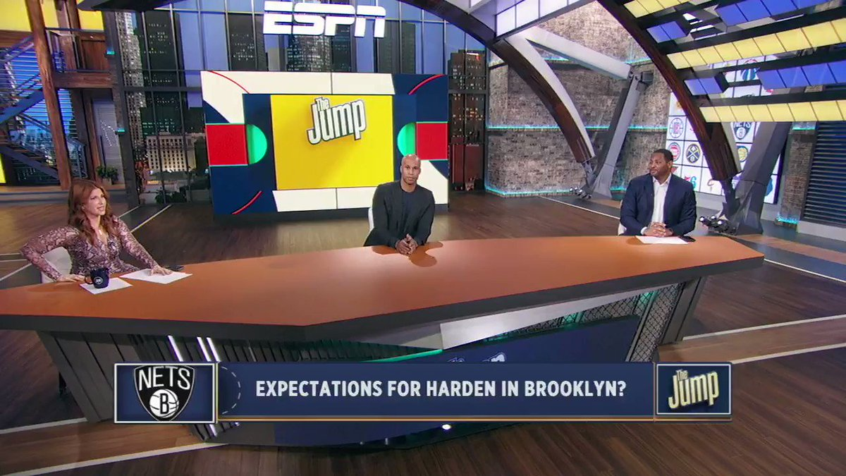 Really interesting discussion on how James Harden will fit in with the Nets, with two guys who have been in plenty locker rooms full of stars - @RKHorry & @Rjeff24. How do roles typically sort themselves out over the course of a season?