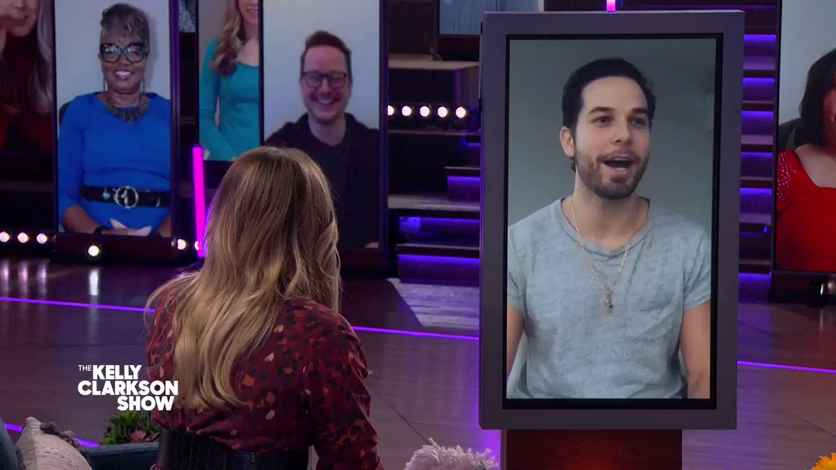.@SkylarAstin is no stranger to a @KellyClarkson song, but his latest performance on @ZoeysPlaylist took it to the next level! Find out if he's up for another challenge today on Kelly 👀