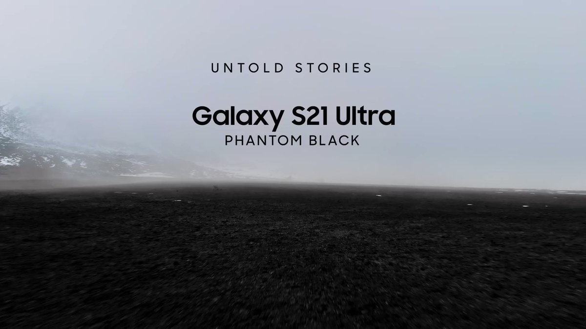 The untold story of how designers created the #GalaxyS21's new Phantom Black color. Strong, fluid, and modern, Phantom Black is a deep, resonant black that was created not by adding more, but by using less.