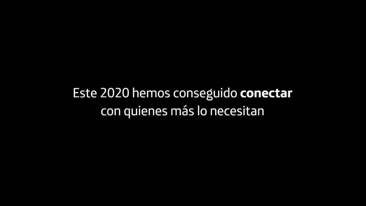 👏GRACIAS a los más de 56.000 @VolunTelefonica que en 2020 han conectado con quienes más lo necesitan  Un orgullo vuestra ayuda a 1.500.000 personas 🙌  #SomosTelefónica 💪