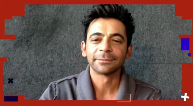 """If Gutthi and Dr Mashoor Gulati were to star in a film, title would be..."": @WhoSunilGrover   #TalkingFilms #RapidFire  #BollywoodHungama YT:"