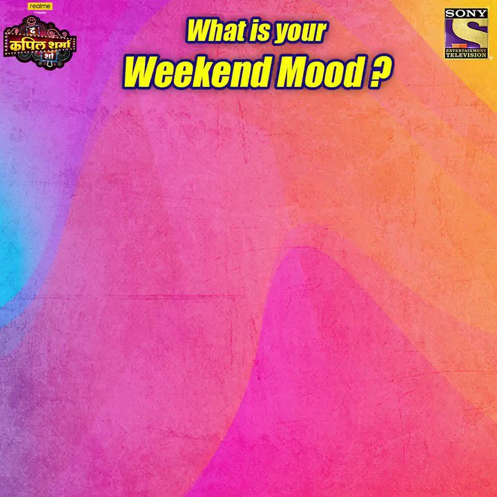 Tell us your weekend mood in the comments section and watch #TheKapilSharmaShow this Sat-Sun at 9:30 PM. @KapilSharmaK9 @kikusharda @Krushna_KAS  @sumona24 @banijayasia @haanjichandan @bharti_lalli #MonaSingh #GauravGera @samirsoni123 @virendrasaxena