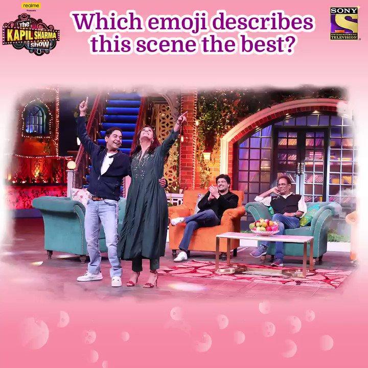 Comments section mein batao ji, iss scene ko sabse zyada suit karta hai emoji aur miliye Mona Singh, Gaurav Gera, Sameer Soni, Virendra Saxena se #TheKapilSharmaShow aaj raat 9:30 baje.