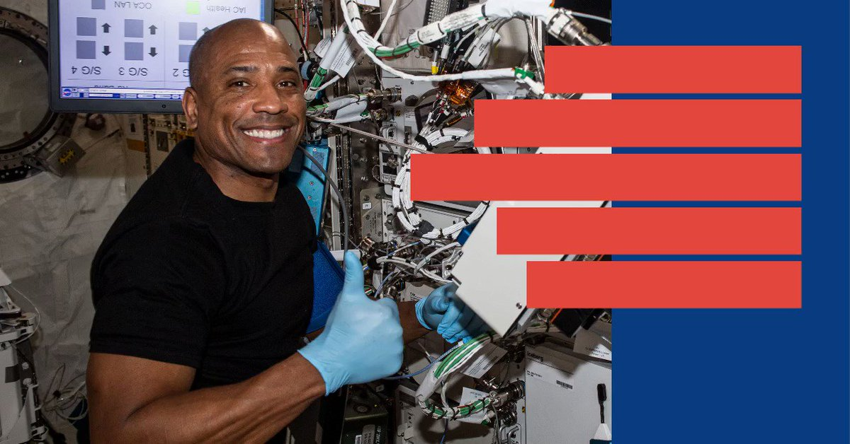 We're 15 minutes from game time!⏱️🏈🚀   Don't fumble your chance to see @AstroVicGlover chat live from the International @Space_Station with Pittsburgh @steelers quarterback Joshua Dobbs! The event kicks off at 9:50 a.m. EST.   📺 Watch live at .