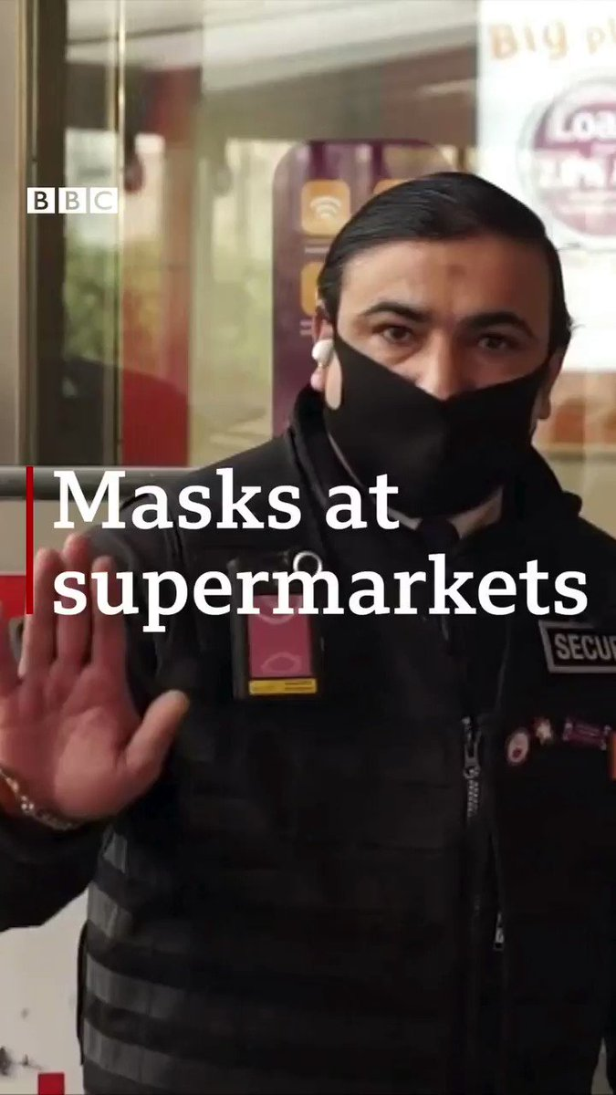 UK supermarkets are banning shoppers without face masks - but can they really enforce it? bbc.in/2XGm9HN