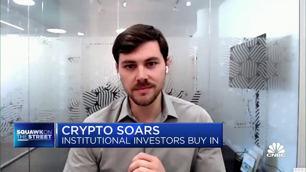 Institutional investors are buying into crypto via Anchorage, the first federally-chartered digital asset bank. The companys co-founder joined us to discuss. @CNBC #Bitcoin #Cryptocurrency