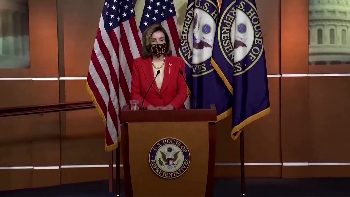 House Speaker Nancy Pelosi said that if members of Congress were found to have been accomplices to the Jan. 6 attack on the Capitol, they should be prosecuted