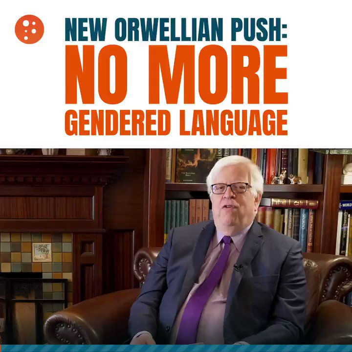 "Image for the Tweet beginning: Eliminating ""gendered language"" may seem"