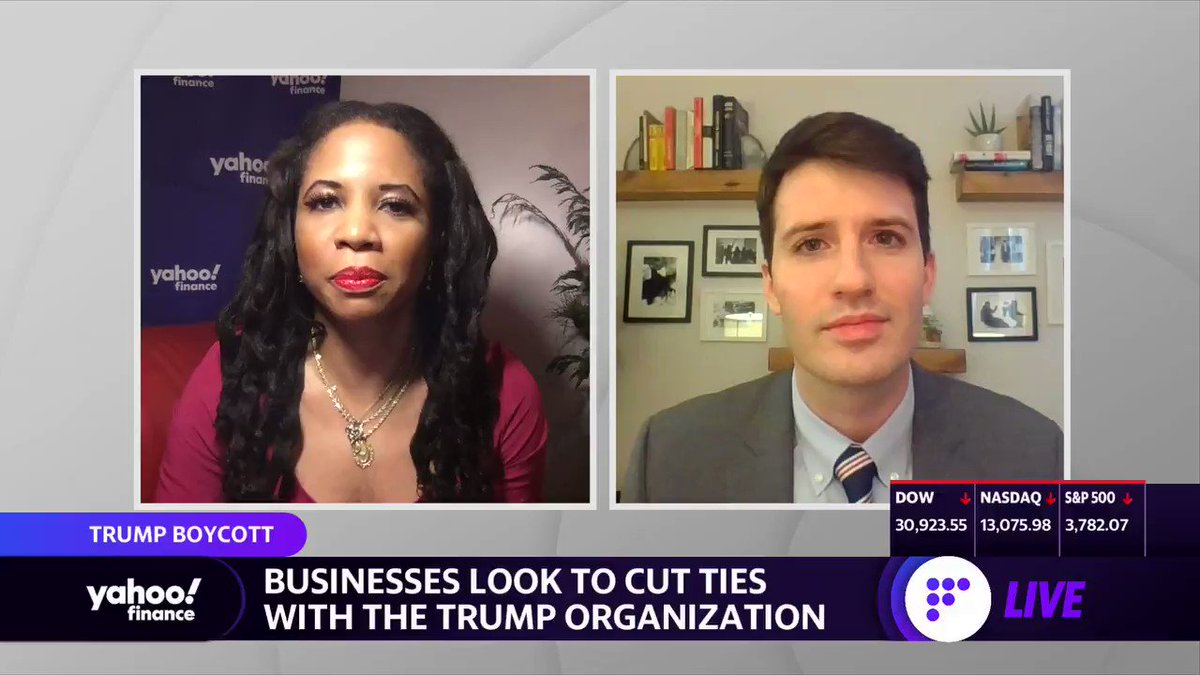 "'White House Inc.' Author & Forbes Sr. Editor @DanAlexander21 on how the Trump Organization will fare after Trump leaves office: ""If the Trump Organization were a publicly traded stock, this is not one that you would want to invest in right now."" Full interview:"