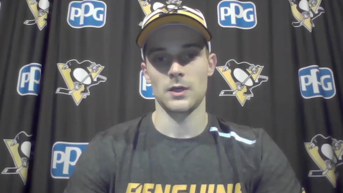 """Something new this season...a schedule full two game sets against the same team.  So the opportunity to """"bounce back"""" is welcomed. -DP (Video courtesy @penguins)"""