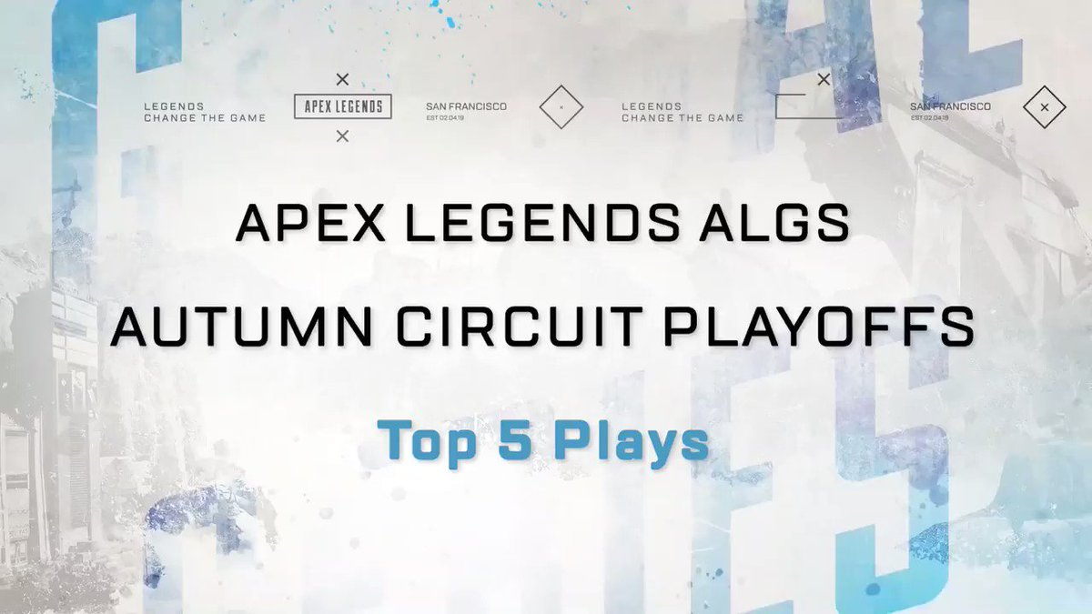 Relive the past, be ready for the future! 🌟  Revisit some of the best plays from the ALGS Autumn Circuit Playoffs.   Are you prepared? The ALGS Winter Circuit is starting on January 17th!