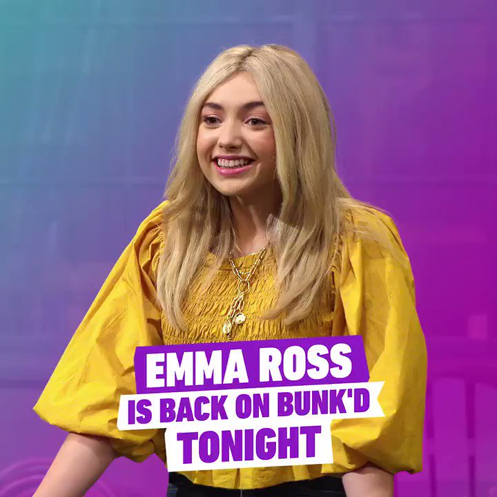 Yes, you read that right! @peytonlist is back for a special episode of #BUNKD tonight! 😲🏕️ #WatchOnDisneyChannel