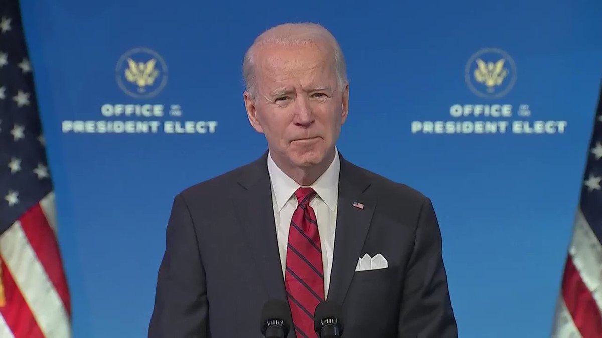 Biden will tap FEMA to set up federal vaccination sites and mobile clinics, and promised an equitable rollout