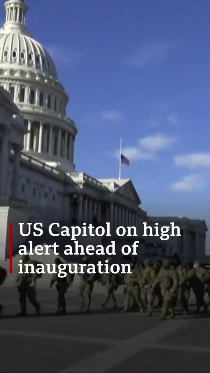 How Washington DC is preparing for Joe Biden's inauguration after the Capitol riots