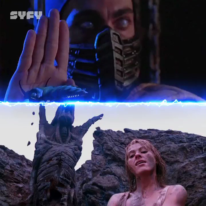 Get over here!  #MortalKombat and Mortal Kombat: Annihilation are playing back-to-back TODAY at 12 PM ET, only on SYFY.