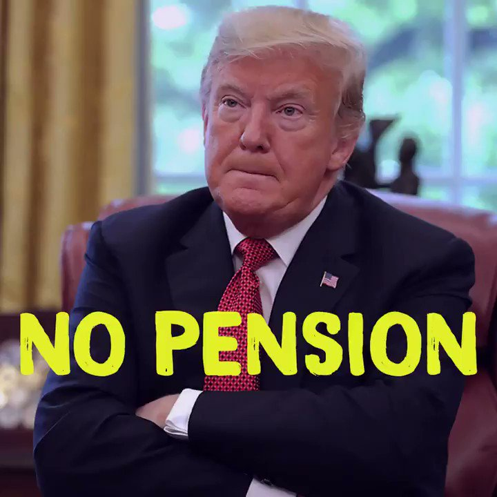 Who else thinks Congress should pass a law to take away Trump's post-presidency perks, including his $200,000 taxpayer-funded pension?