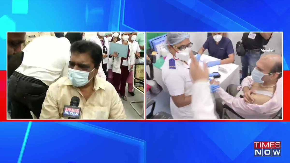 #WATCH | Healthcare workers across the country who got/assisted those who got, a Covid vaccine jab today, speak to TIMES NOW. | #IndiaGetsVaccinated