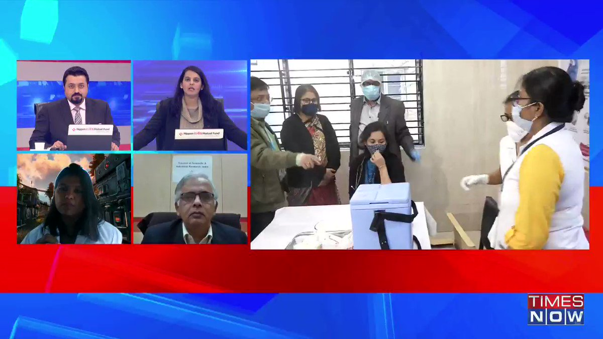 Wearing masks, social distancing, etc should continue for at least a year till a significant chunk of our population gets vaccinated: Dr. Kirti Sabnis, Infectious Disease Specialist, Fortis Hospital, Mulund, tells TIMES NOW. | #IndiaGetsVaccinated