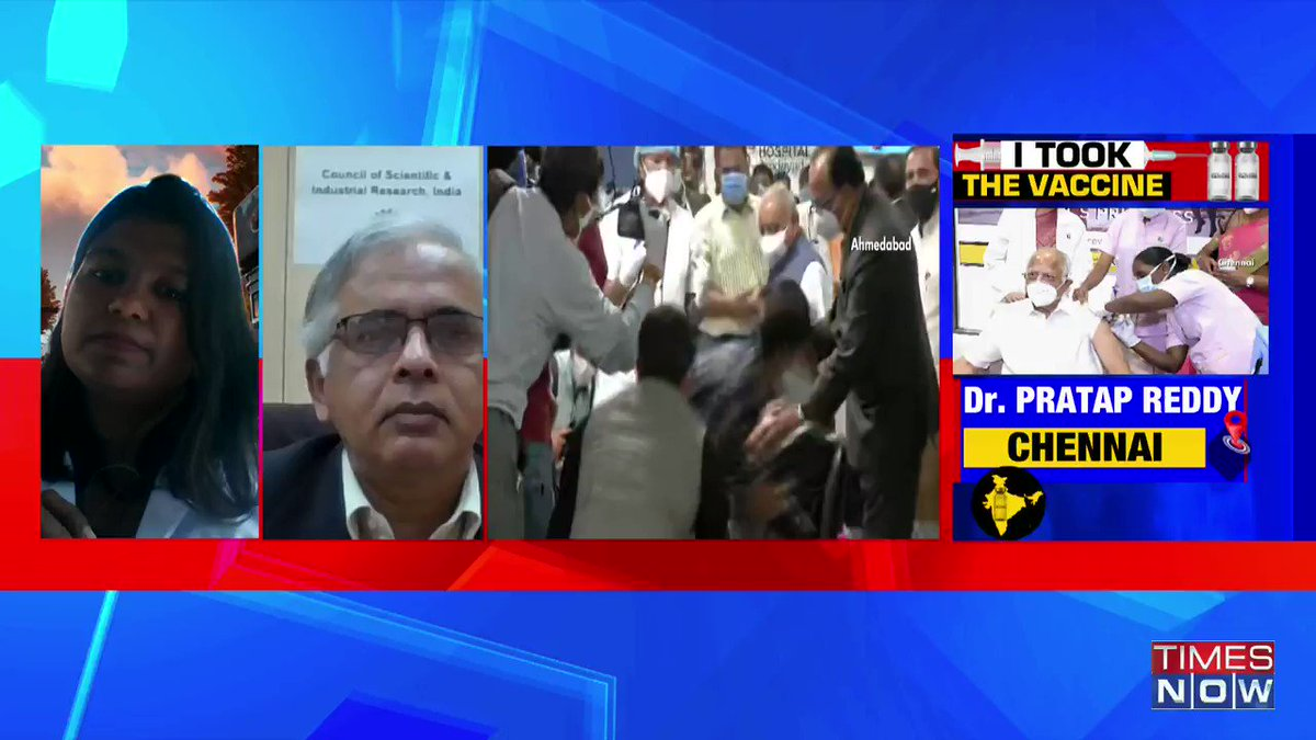The safety of both the vaccines has been established:@shekhar_mande, DG, Council of Scientific & Industrial Research & Secretary, Dept of Scientific & Industrial Research, tells TIMES NOW. | #IndiaGetsVaccinated