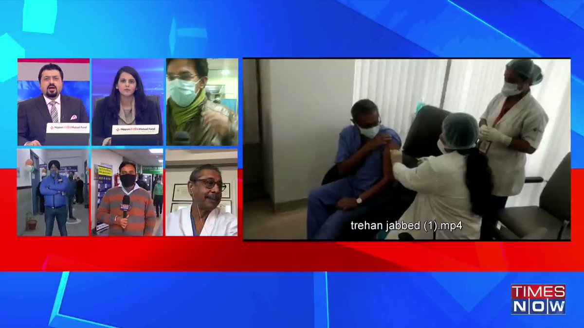 We're seeing the light at the end of a tunnel. I received my jab of the vaccine & I am perfectly alright: Dr Naresh Trehan,Chairman & Managing Director ofMedanta, tells TIMES NOW. | #IndiaGetsVaccinated