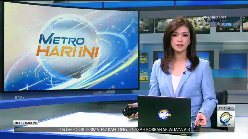 #MetroHariIni   Jalan Trans Sulawesi Tertutup Longsor Akibat Gempa