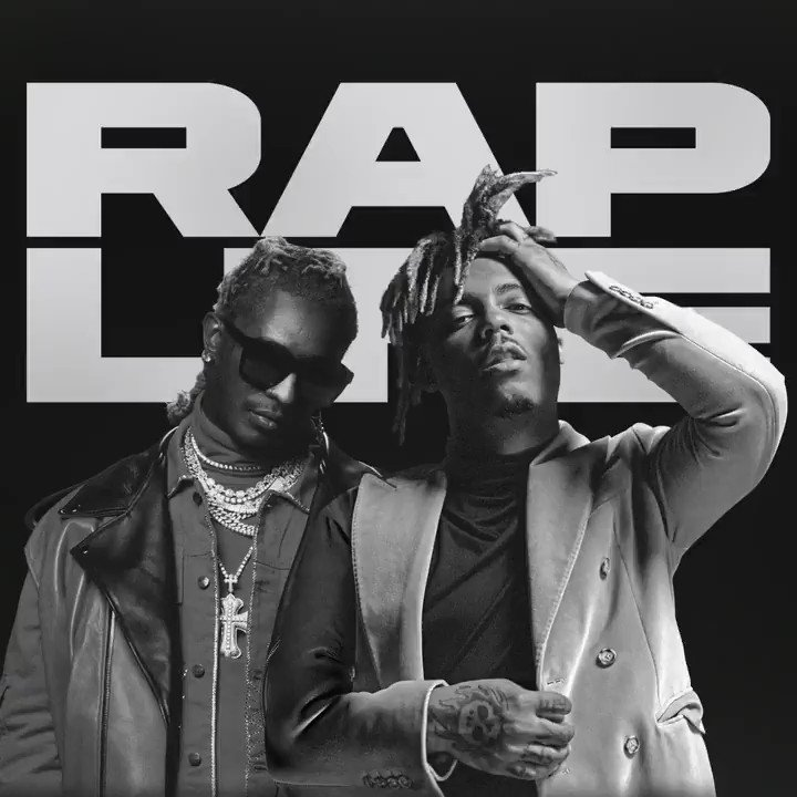 "Today on #RapLife: ""Bad Boy"" Juice WRLD x @youngthug. Listen now:"
