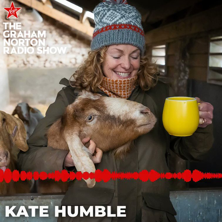 Life on the farm doesn't stop!   @katehumble reminds us that not everything has come to a halt and invites us into a wholesome one-off edition of Escape To The Winter Farm, available now on My5 🚜  #TheGrahamNortonRadioShow