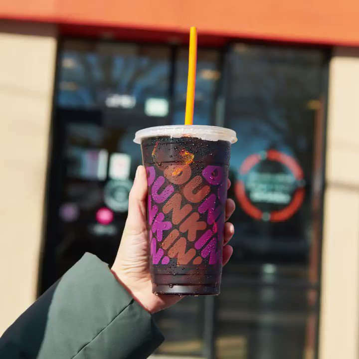 An extra drink deserves an extra donut (or 5). 🍩 #DunkinExtraCharged