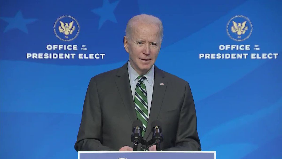 It's a hugely dynamic cabinet he's got going. To many people it'll be hugely exciting to see in action. https://t.co/eRfywrSUbY has HOPE AGAIN that America can be as great as we all thought it was pre-Trump. #HopeAgain #Dynamic #BidensCabinet #diversity #science