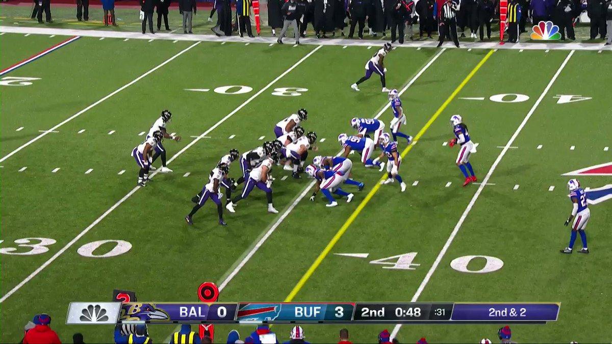 Lamar to Hollywood again 🔥   #RavensFlock #NFLPlayoffs  📺: #BALvsBUF on NBC 📱: NFL app // Yahoo Sports app:
