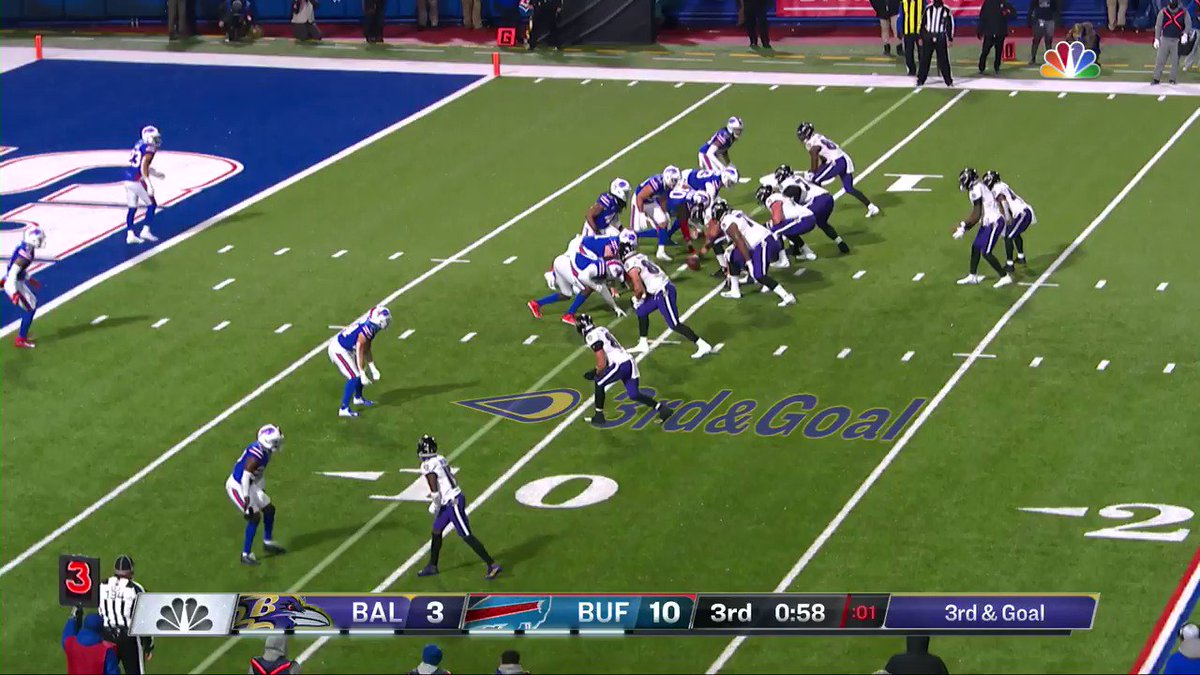 Replying to @BuffaloBills: TARON JOHNSON PICK SIX‼️  📺 #BALvsBUF: