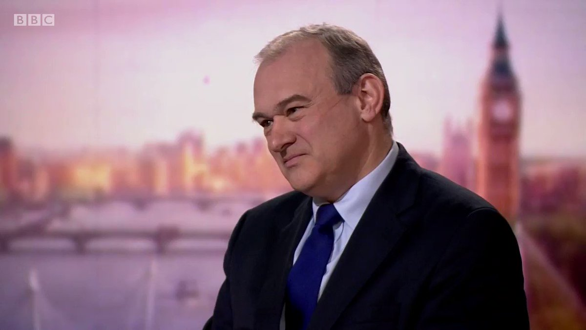 #Marr: Should political parties be leafleting door to door during a pandemic? Lib Dem Leader Sir Ed Davey: Yes, as long as its compliant with the guidance bbc.in/2XMp4Px
