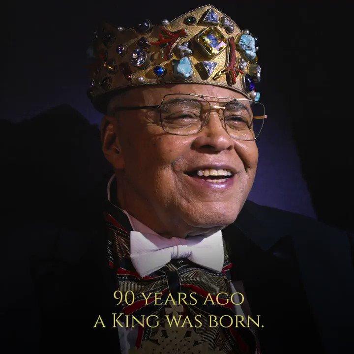 James Earl Jones, the exalted ruler of Zamunda and icon of cinema, turns 90 today. 👑