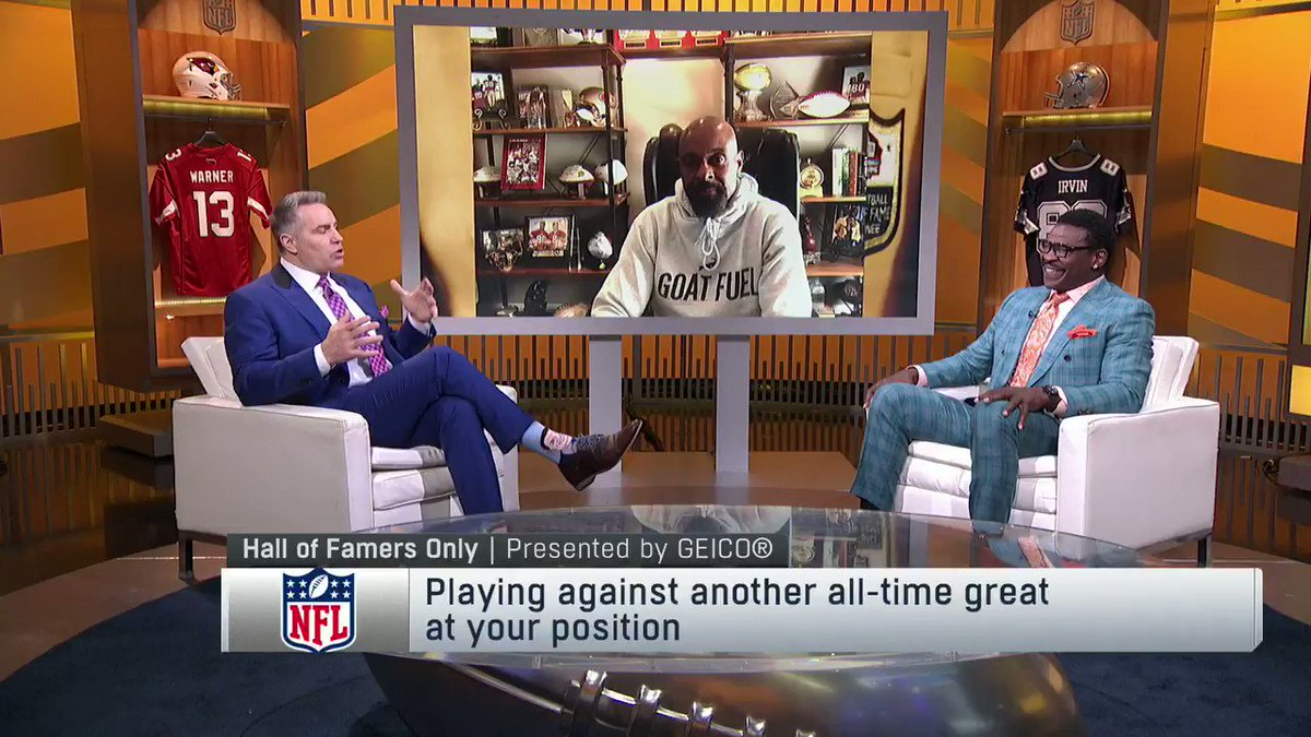 Do you remember when TO got 20 catches on Jerry Rice Day?  @JerryRice remembers, and he's not letting @SteveMariucci off the hook 😂🐐