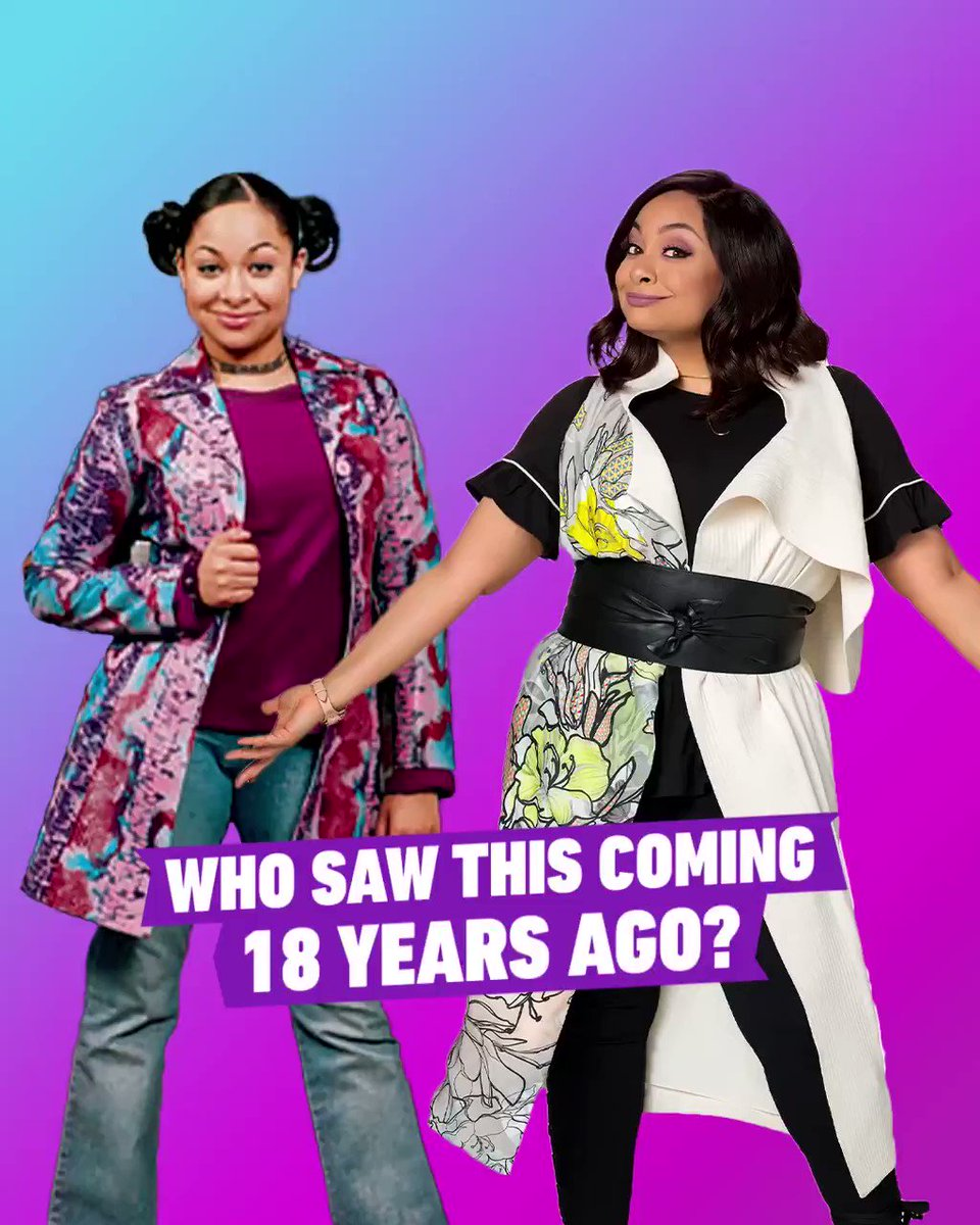 Who predicted #RavensHome when #ThatsSoRaven premiered 18 years ago? 🔮 #WatchOnDisneyChannel #WatchOnDisneyPlus