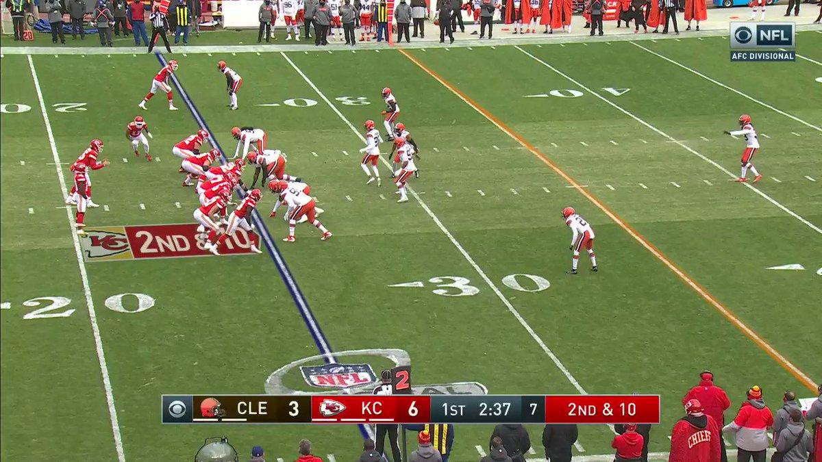 Mecole 💨   #RunItBack #NFLPlayoffs  📺: #CLEvsKC on CBS 📱: NFL app // Yahoo Sports app: