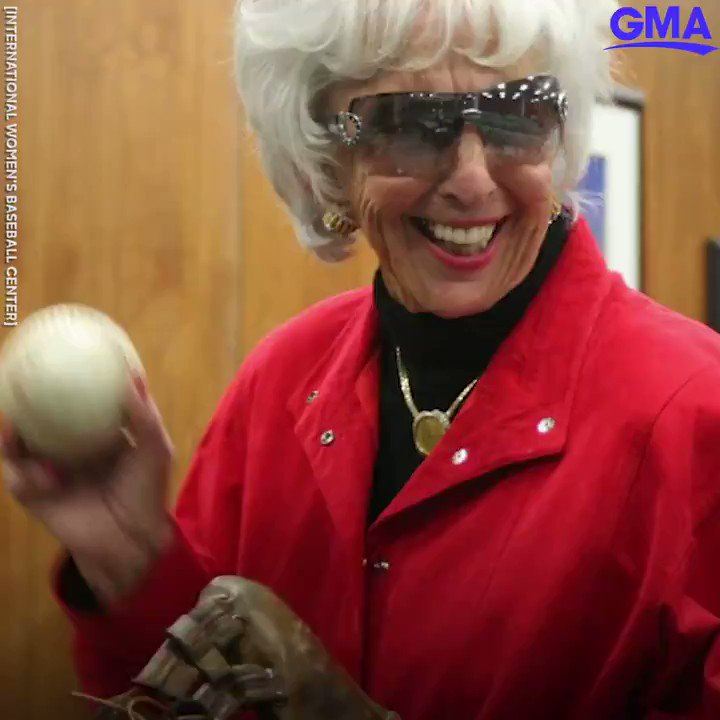 Maybelle Blair, real-life 'League of Their Own' ballplayer, raises money for 94th birthday to build women's baseball center.