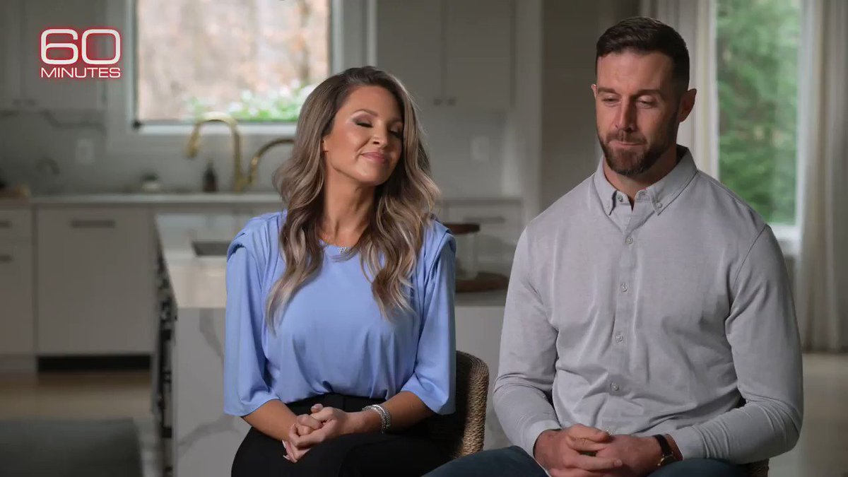 """It's bigger than football… It's not about the game. It's about… getting back on your feet and dusting yourself off, no matter what the obstacle is,"" says Alex Smith's wife about the QB playing again after almost losing his life and his leg."