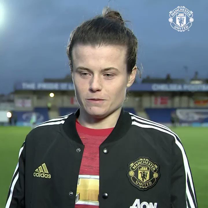 "💬 ""We're obviously disappointed but we're not disheartened.""  Onwards and upwards is the message from @HayleyLadd!  #MUWomen #BarclaysFAWSL"