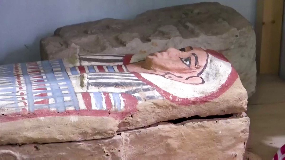 Egypt has unveiled a significant new archaeological discovery at the Saqqara necropolis south of Cairo https://t.co/14NTnn3fm3 https://t.co/iKL2yuKtUv